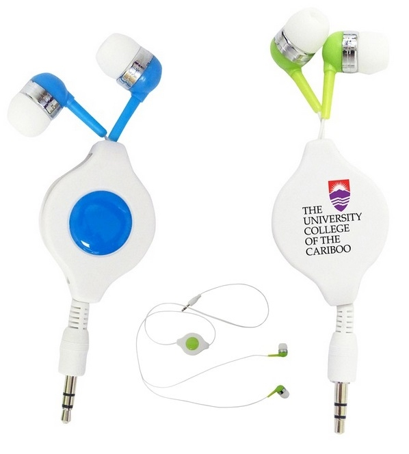Picture of Retractable Headphones